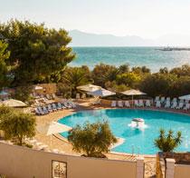 Lapsiystävällinen hotelli Waterman Supetrus Resort.