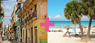 Kuuban yhdistelmämatkat