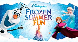 Disney Frozen kesällä 2015