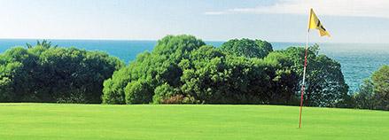 Asu golfkentän vieressä