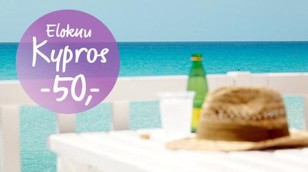 Kypros elokuussa -50,-
