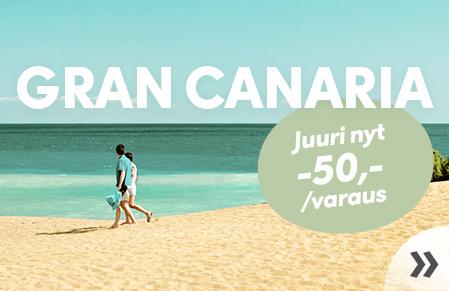 Marraskuussa Gran Canarialle