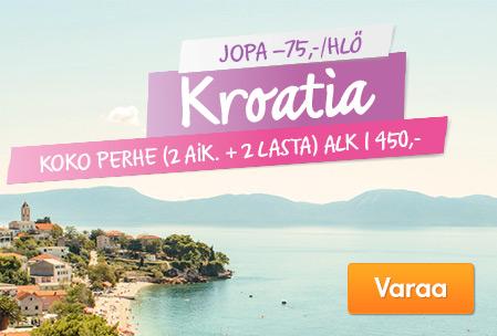 Kesälöytö: Kroatia
