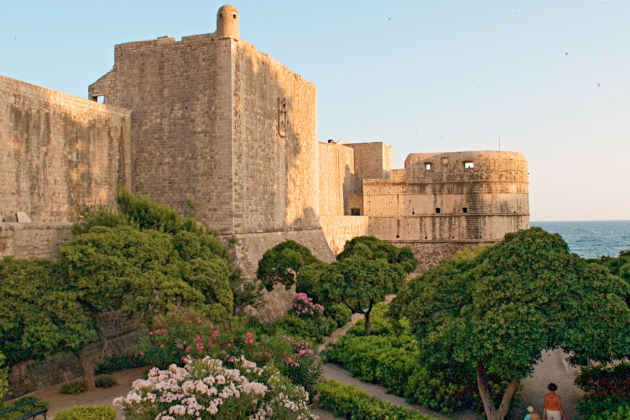 Kroatia - Dubrovnikin Vanhakaupunki
