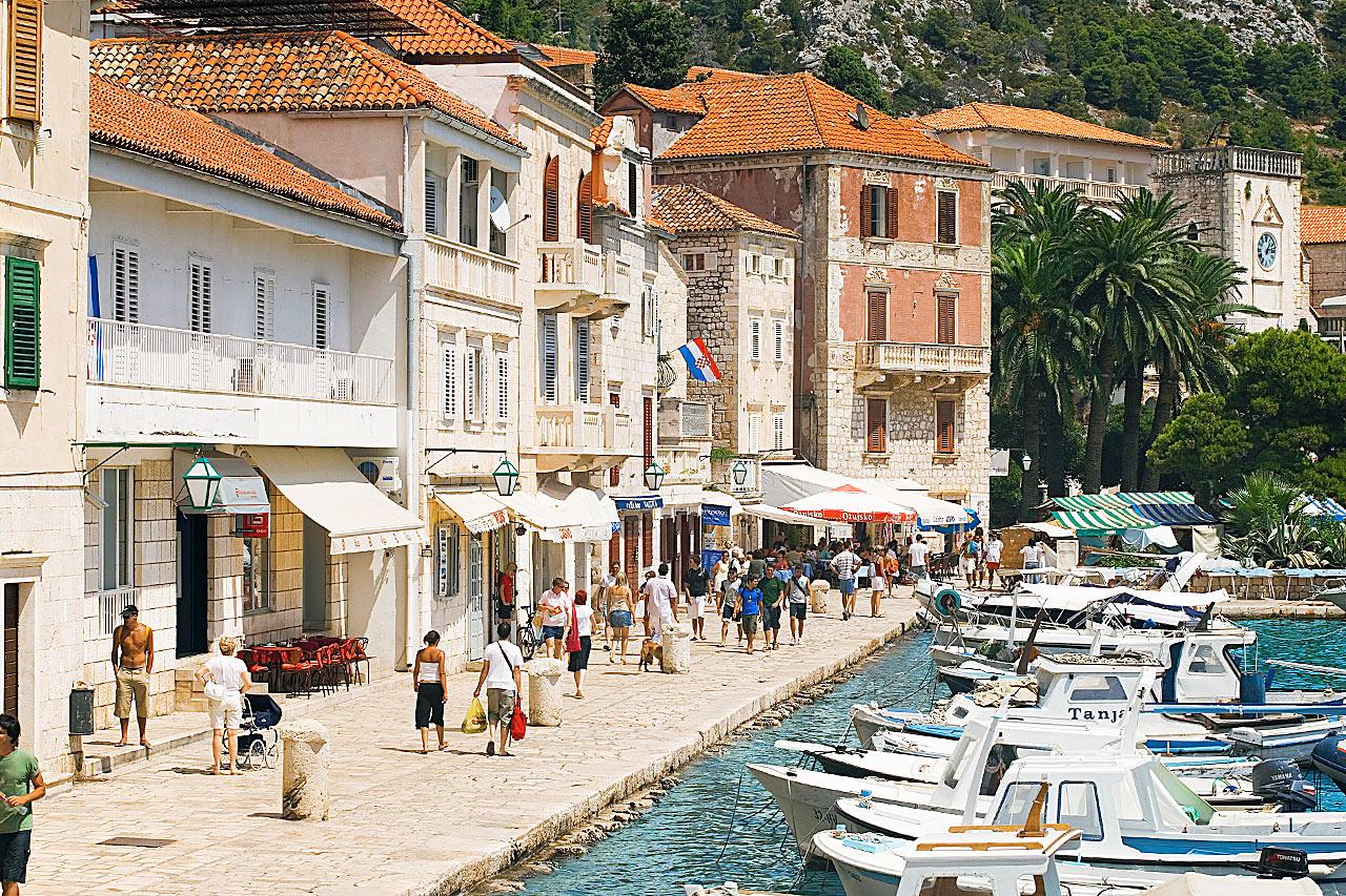 Kroatia - Hvarin kaupunki