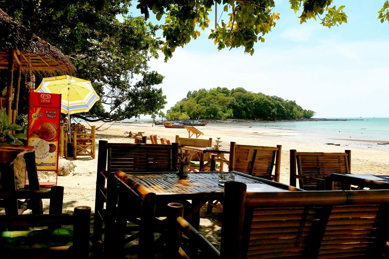 Thaimaa - Klong Muang Beach, Ao Nangin pohjoispuolella