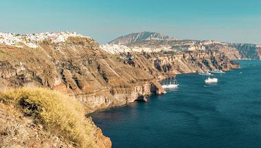 Santorini, Mykonos, Ateena