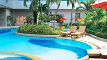 Rentoudu spa-hotellissa - Amari Watergate.