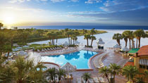 Sheraton Sand Key Resort – perhehotelli hyvillä lapsialennuksilla.