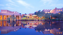Rentoudu spa-hotellissa - Banyan Tree Al Wadi.