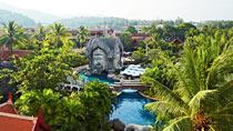 Lapsiystävällinen hotelli Phuket Orchid Resort & Spa.