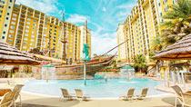 Lake Buena Vista Resort – perhehotelli hyvillä lapsialennuksilla.