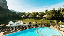 Rentoudu spa-hotellissa - Peace Laguna.