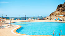 Lapsiystävällinen hotelli Mirador del Atlantico.