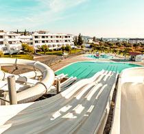 All Inclusive SunConnect Cyprotel Faliraki-hotellissa.