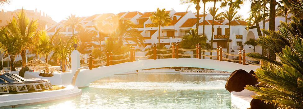 Parque Santiago 3, Playa de las Americas, Teneriffa, Kanariansaaret