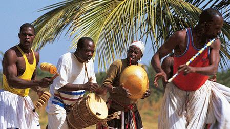 Tanssi-ja rumpumatka Gambiassa 20.1.-3.2.2017