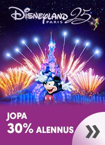 Disneyland Paris©  - jopa 30% alennus