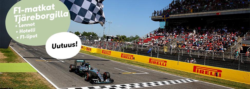 Tjäreborgin Formula 1 -matkat