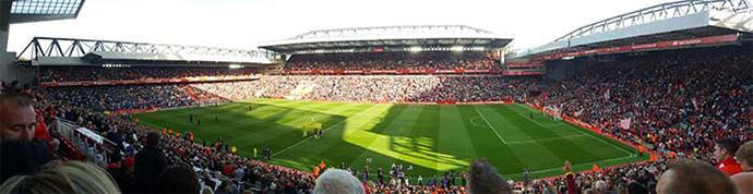Istumapaikka Anfield Beat Lounge
