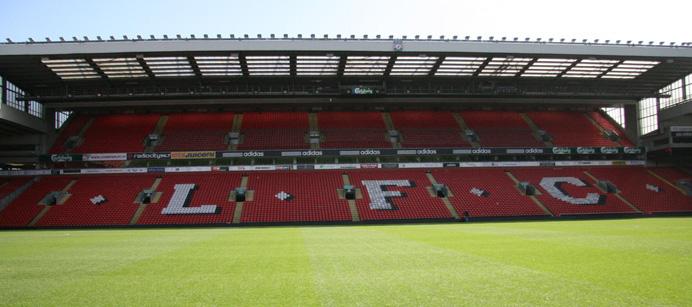 Tervetuloa Anfield-stadionille!