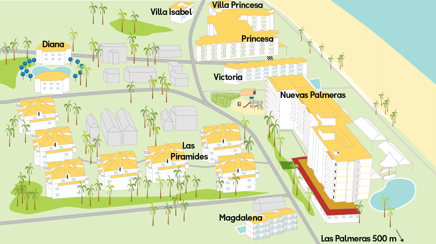Resortkartta