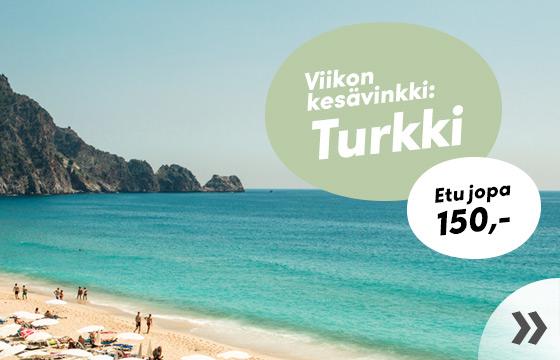 Viikon kesävinkki: Turkki