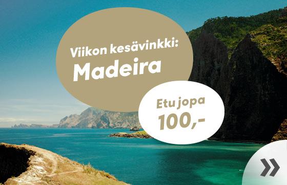 Viikon kesävinkki: Madeira