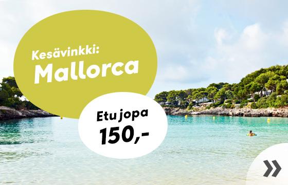 Viikon kesävinkki: Mallorca