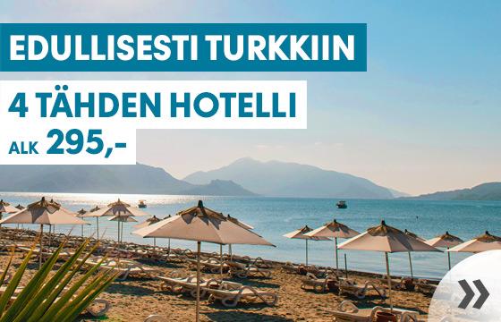 Turkki - alk. 295,-