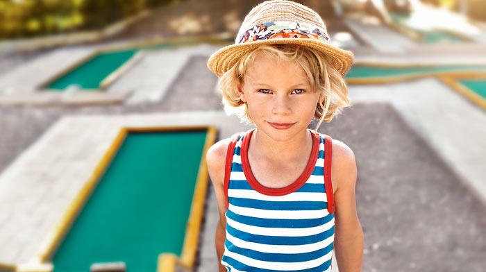 Minigolfia ja tennistä