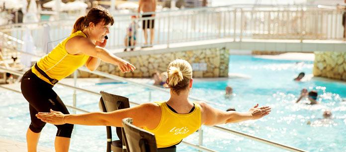 Liikunta ja urheilu Sunwing Family Resorts -hotelleissa