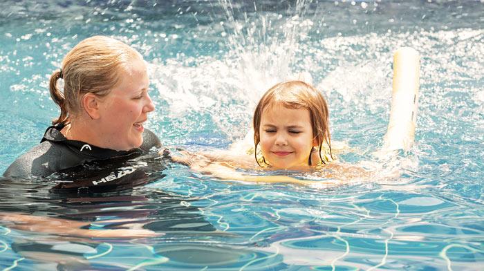 Yksityinen uimaopettaja, alk. 4-vuotiaille