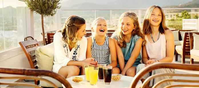 Nuorten aktiviteetit Sunwing-hotelleissa